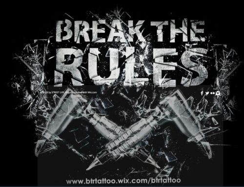 Break the Rules Tattoo